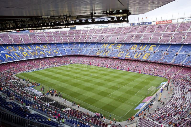 στάδιο της Βαρκελώνης fc στοκ φωτογραφία με δικαίωμα ελεύθερης χρήσης