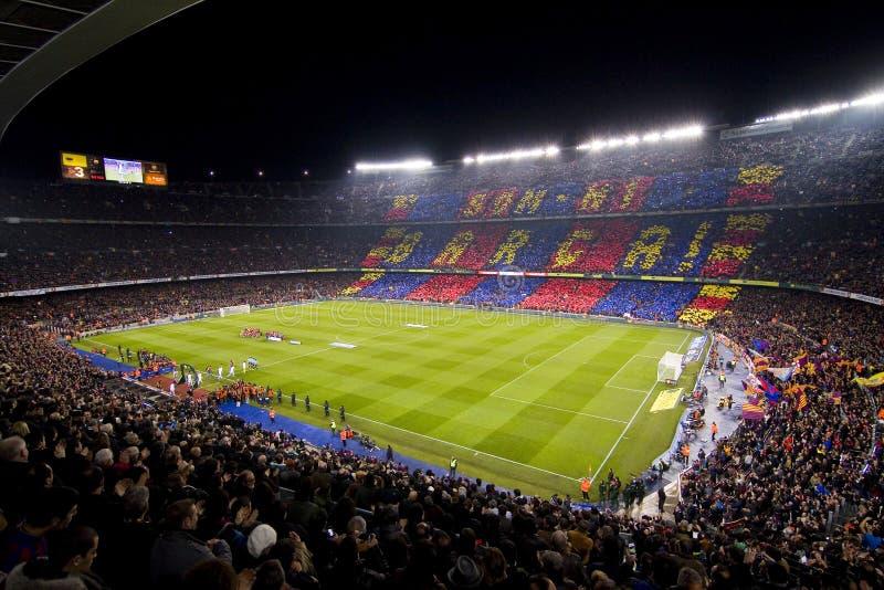 στάδιο της Βαρκελώνης fc στοκ φωτογραφίες
