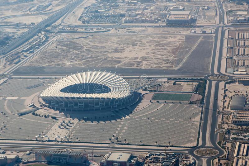 Στάδιο του α-Ahmad Jaber στο Κουβέιτ στοκ φωτογραφίες με δικαίωμα ελεύθερης χρήσης