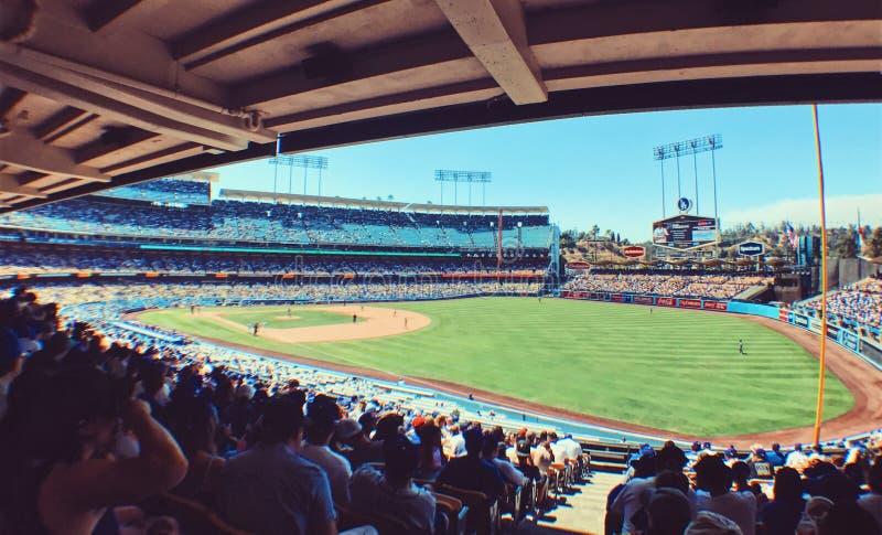 Στάδιο των Dodgers στοκ εικόνες