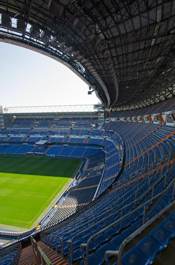 Στάδιο Bernabeu στη Μαδρίτη στοκ φωτογραφία με δικαίωμα ελεύθερης χρήσης