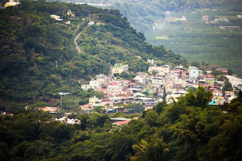 Στέγαση σύνθετη του δήμου της Ταϊβάν Sandimen στοκ φωτογραφία