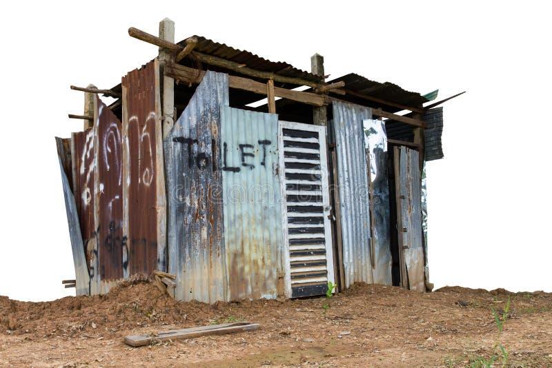 Στέγες τουαλετών στοκ φωτογραφία