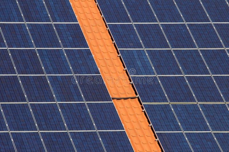 στέγη κυττάρων ηλιακή στοκ εικόνες