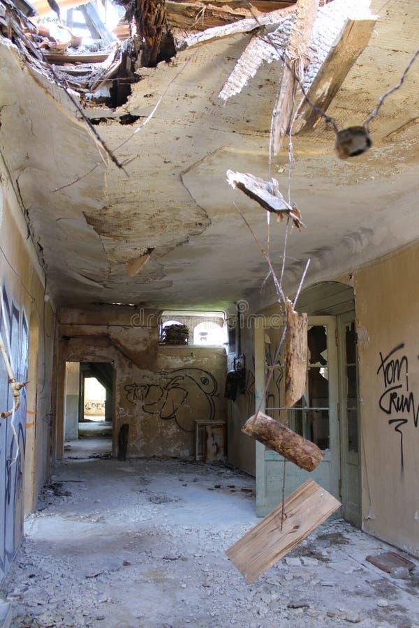Στέγη σε beelitz-Heilstätten στοκ εικόνα με δικαίωμα ελεύθερης χρήσης