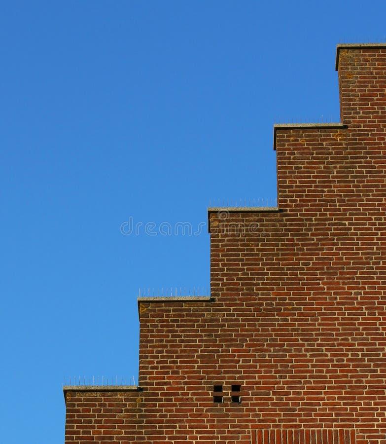 στέγη σπιτιών που περπατεί&ta στοκ φωτογραφία