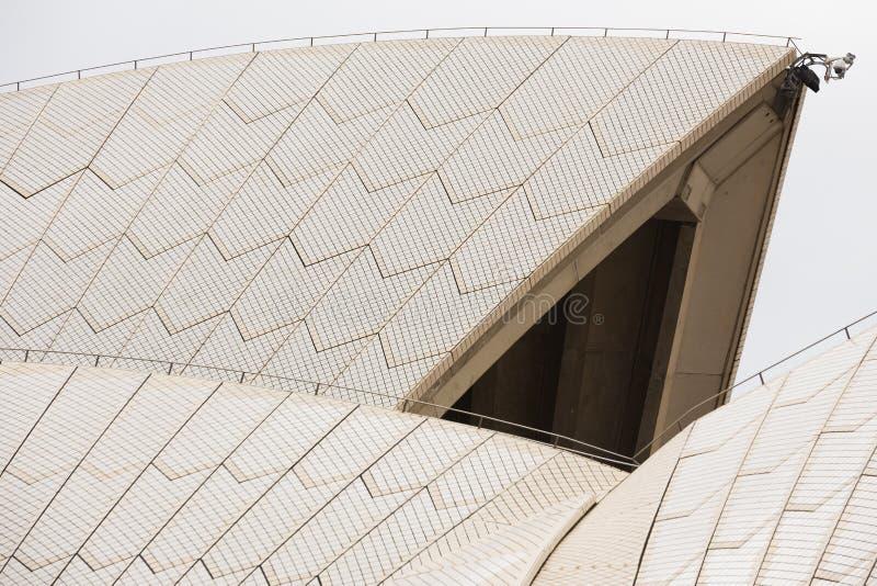 Στέγη της Όπερας του Σίδνεϊ στοκ εικόνες
