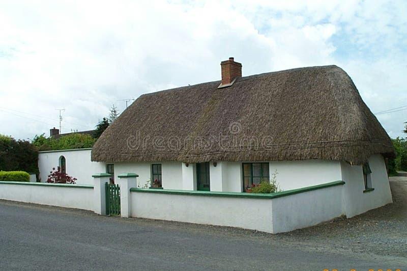 Στέγη Thatched στη Σκωτία στοκ εικόνες με δικαίωμα ελεύθερης χρήσης