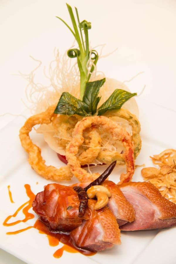 Download Στήθος παπιών που ψήνονται και Tamarind σάλτσα Στοκ Εικόνα - εικόνα από lunch, roast: 62708435