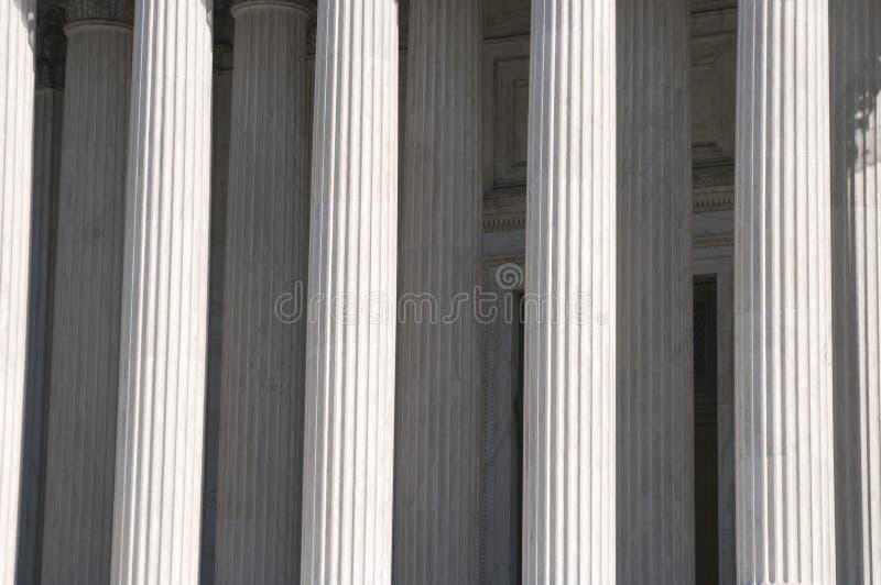 στήλες ελληνικά στοκ φωτογραφία