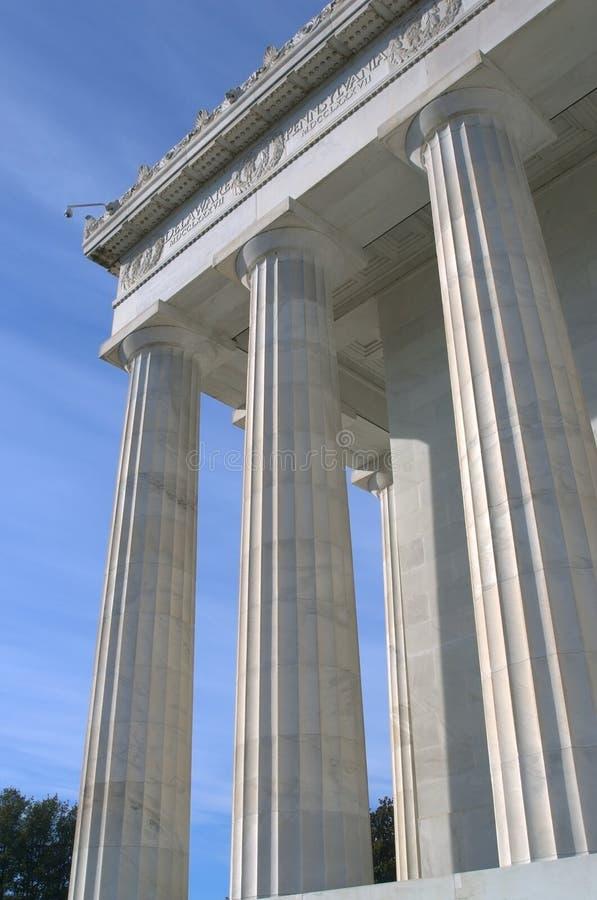 στήλες ελληνικά στοκ εικόνες με δικαίωμα ελεύθερης χρήσης