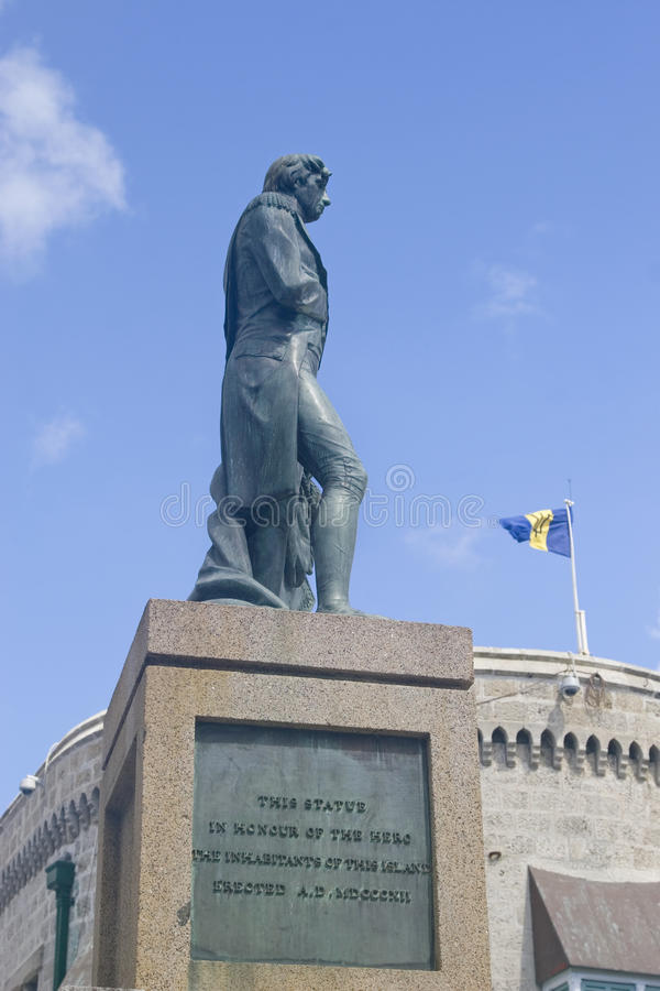 Download στήλη Nelson S των Μπαρμπάντος Bridgetown Στοκ Εικόνα - εικόνα από διάσημος, σημαία: 13183371