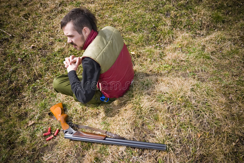 στήριξη κυνηγών στοκ φωτογραφία με δικαίωμα ελεύθερης χρήσης