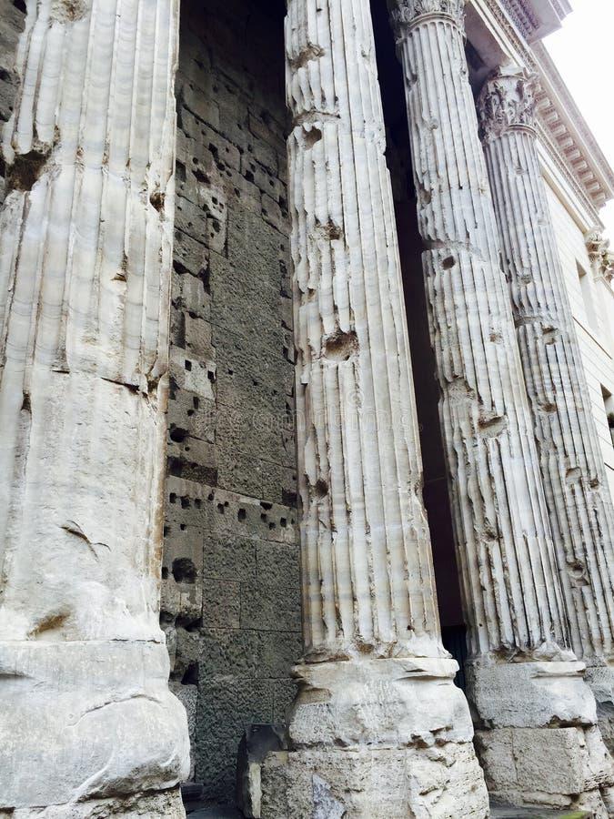 Στήλες στη Ρώμη στοκ φωτογραφίες με δικαίωμα ελεύθερης χρήσης