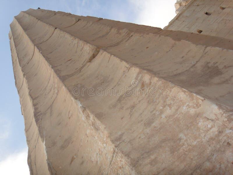 Στήλες Parthenon στοκ φωτογραφίες