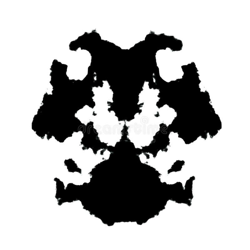 στίγμα από μελάνη rorschach απεικόνιση αποθεμάτων