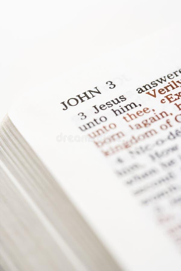στίχος Βίβλων στοκ φωτογραφίες