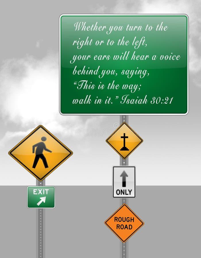 Στίχος Βίβλων ελεύθερη απεικόνιση δικαιώματος