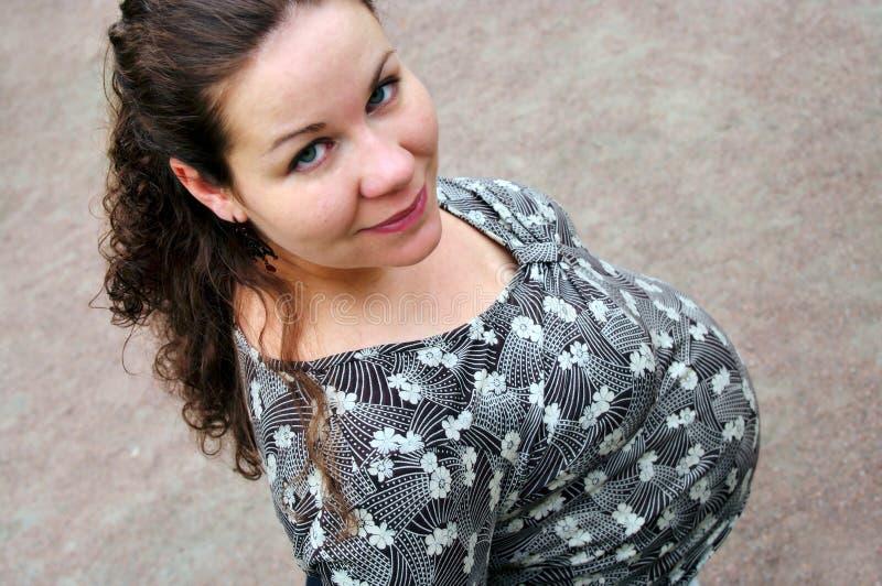 σταθερά φανείτε έγκυος &gam στοκ φωτογραφία με δικαίωμα ελεύθερης χρήσης