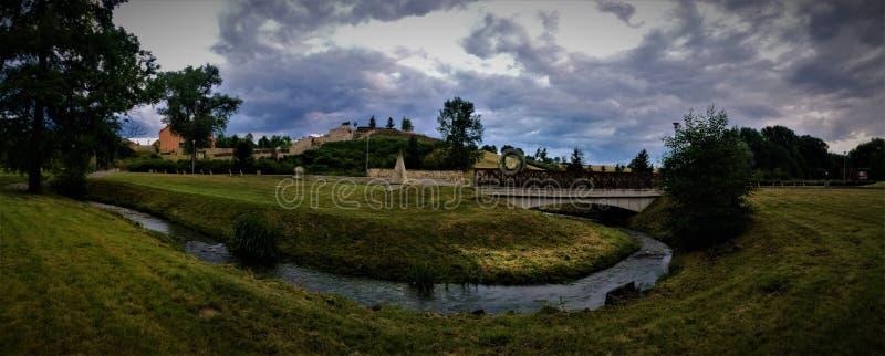 σταθμεύστε την Πράγα στοκ φωτογραφία με δικαίωμα ελεύθερης χρήσης