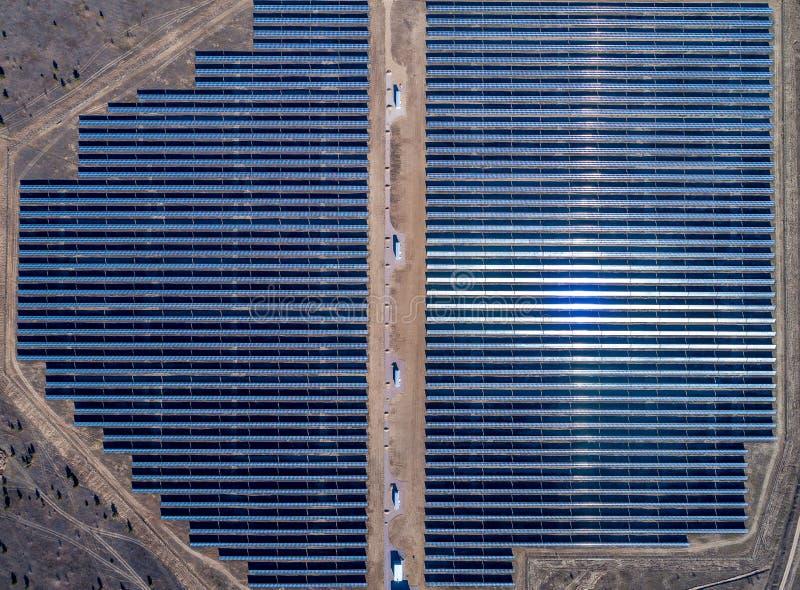 Σταθμός ηλιακής ενέργειας στοκ φωτογραφίες