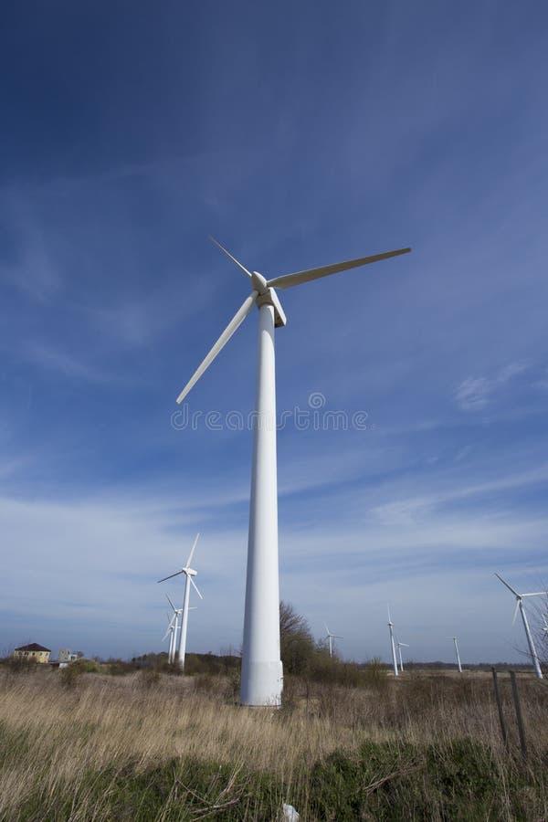 Σταθμός ηλεκτρικής δύναμης αέρα στοκ φωτογραφία με δικαίωμα ελεύθερης χρήσης
