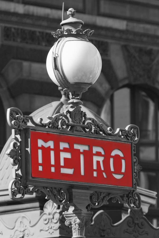 Σταθμός μετρό, Παρίσι, Γαλλία στοκ εικόνες