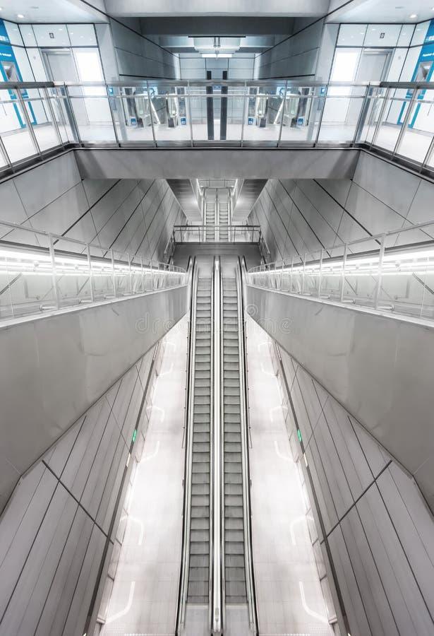 Σταθμός μετρό της Κοπεγχάγης στοκ εικόνες