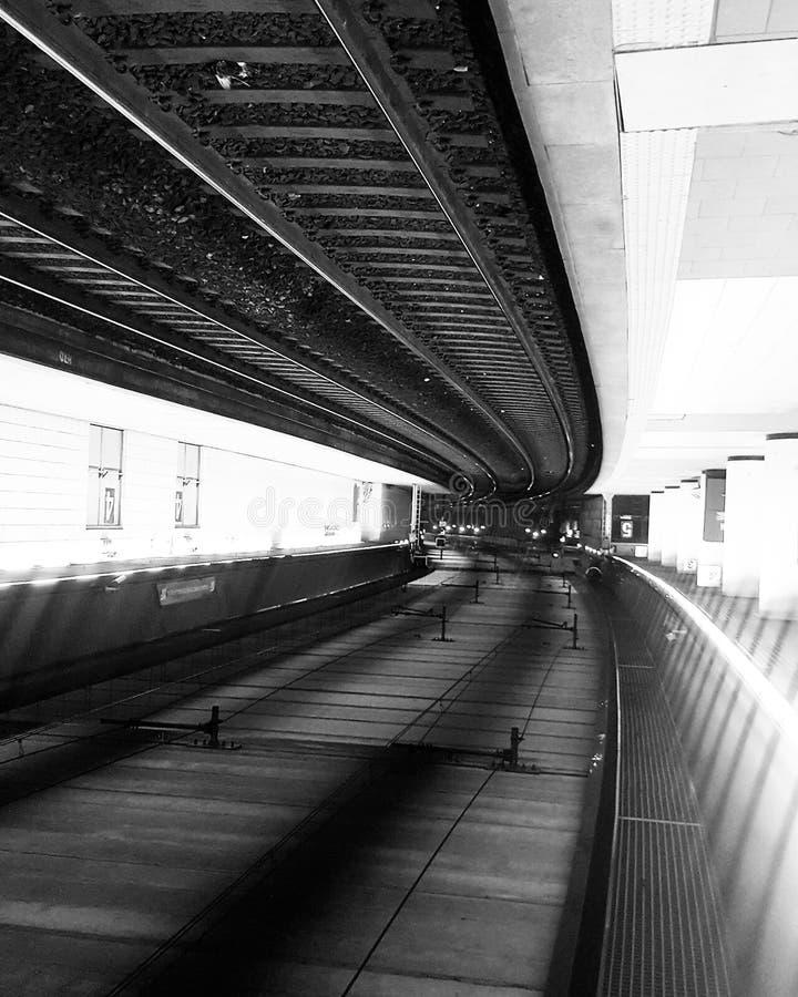 Σταθμός μετρό στοκ εικόνα με δικαίωμα ελεύθερης χρήσης