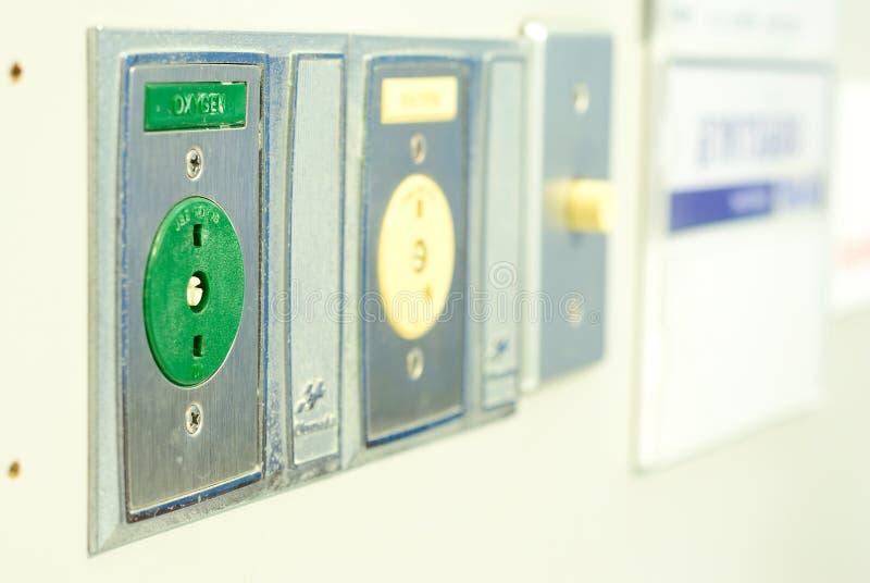 Σταθμός οξυγόνου στοκ φωτογραφίες με δικαίωμα ελεύθερης χρήσης
