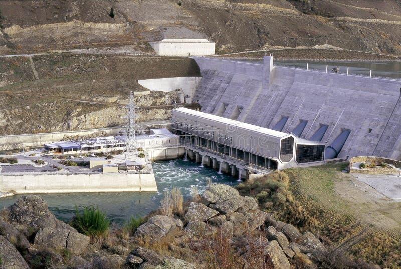 Σταθμός παραγωγής ηλεκτρικού ρεύματος στοκ εικόνα