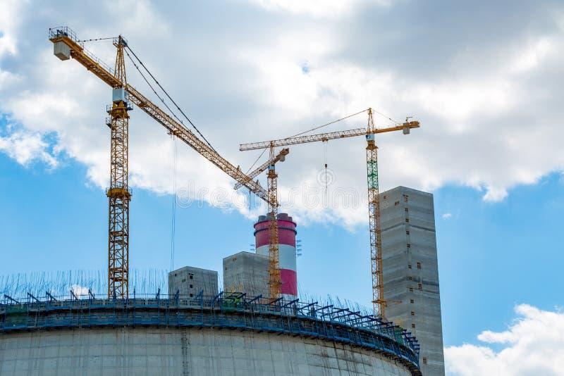 Σταθμός παραγωγής ηλεκτρικού ρεύματος Opole στοκ εικόνες