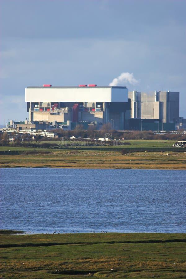 σταθμός πυρηνικής ενέργειας στοκ φωτογραφία με δικαίωμα ελεύθερης χρήσης