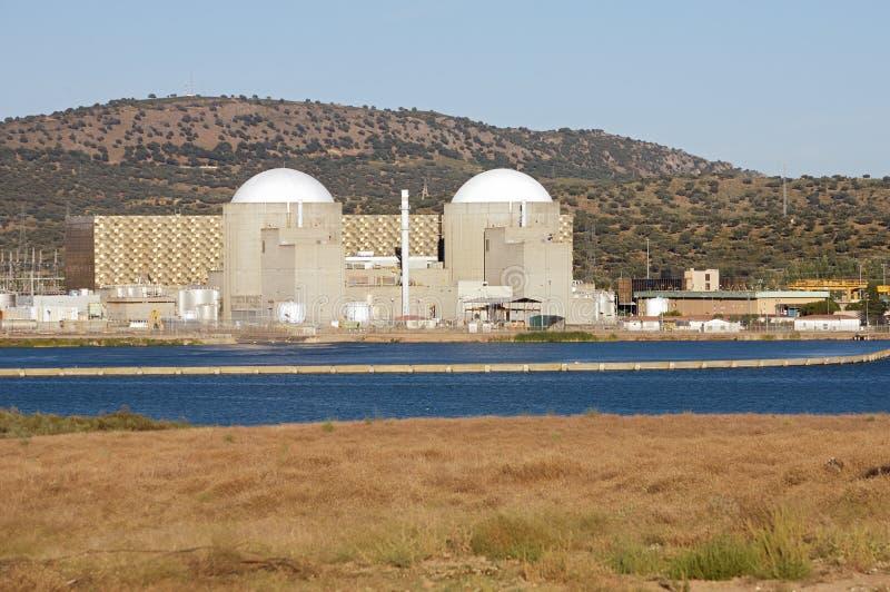 σταθμός πυρηνικής ενέργειας στοκ φωτογραφίες με δικαίωμα ελεύθερης χρήσης