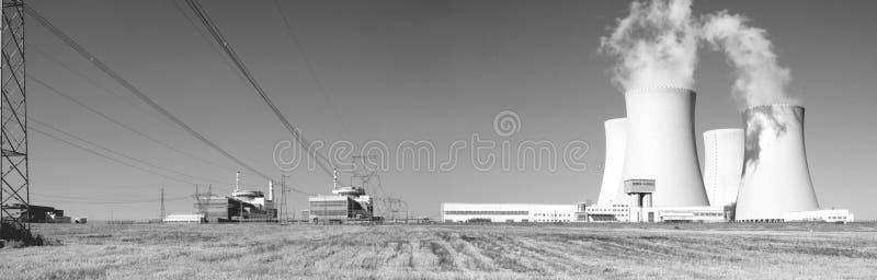σταθμός πυρηνικής ενέργε&iota στοκ φωτογραφία με δικαίωμα ελεύθερης χρήσης