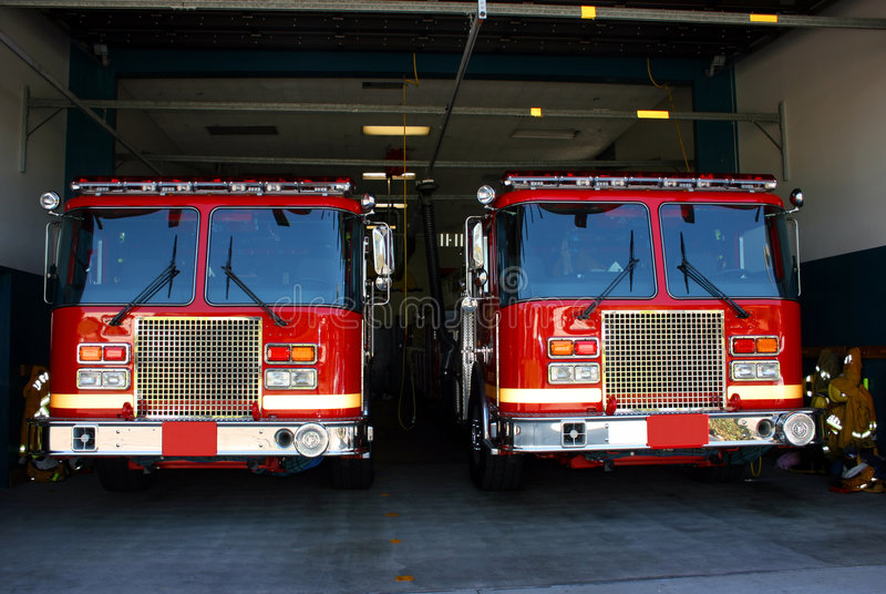 σταθμός πυρκαγιάς στοκ φωτογραφίες