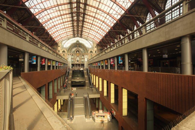Σταθμός της Αμβέρσας στοκ φωτογραφία με δικαίωμα ελεύθερης χρήσης