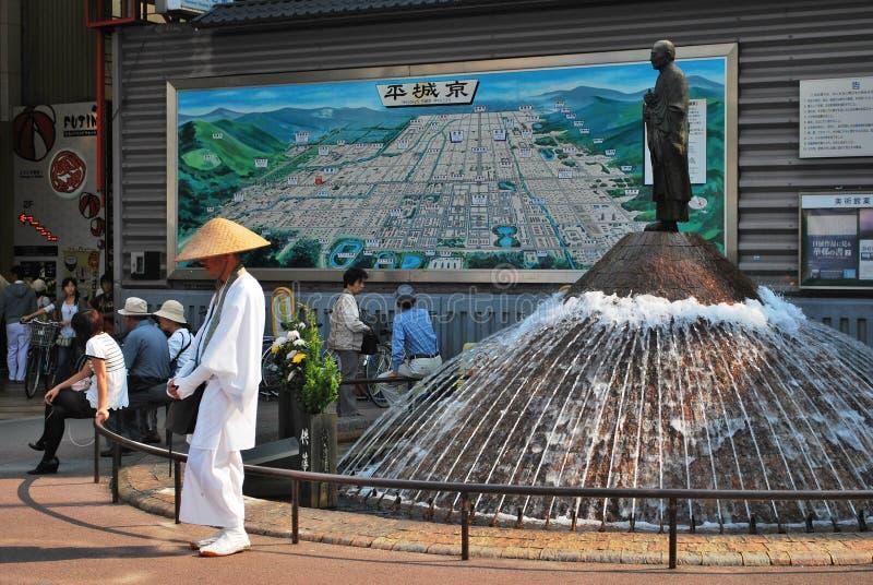 σταθμός της Ιαπωνίας Νάρα στοκ φωτογραφία