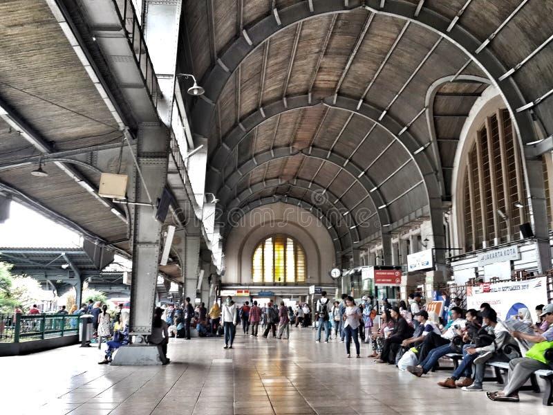 Σταθμός της Τζακάρτα Kota στοκ φωτογραφία με δικαίωμα ελεύθερης χρήσης