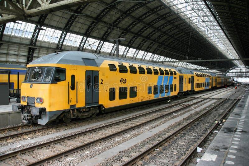 σταθμός του Άμστερνταμ στοκ φωτογραφία με δικαίωμα ελεύθερης χρήσης