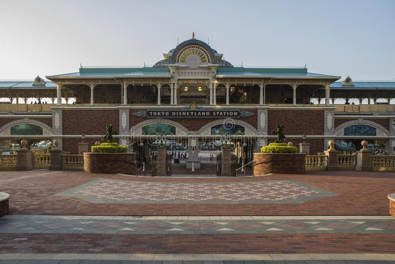Σταθμός του Τόκιο Disneyland στοκ φωτογραφίες