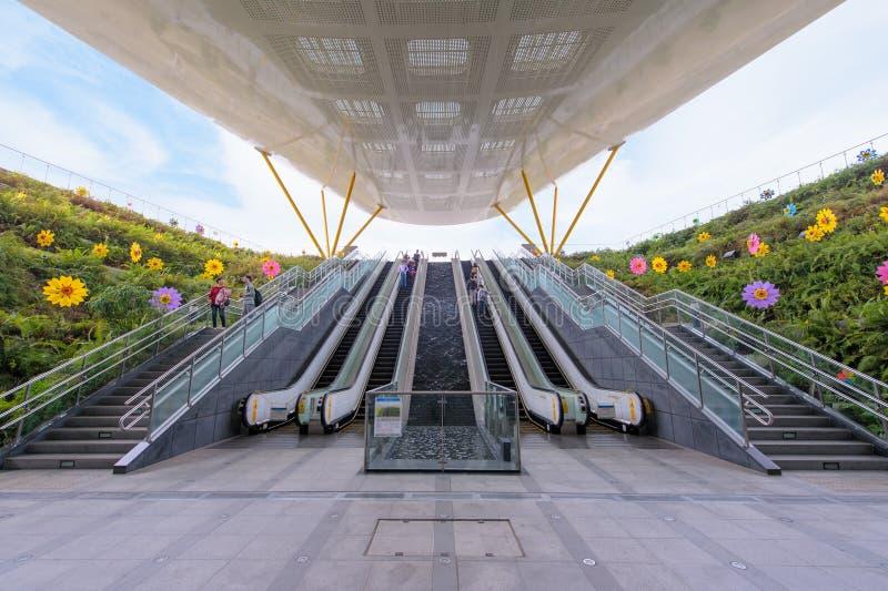 Σταθμός του Central Park σε Kaohsiung στοκ φωτογραφίες