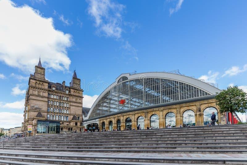 Σταθμός τρένου οδών ασβέστη στο Λίβερπουλ, UK στοκ εικόνες