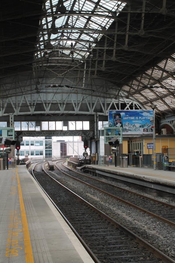 Σταθμός τρένου στο Δουβλίνο στοκ φωτογραφίες με δικαίωμα ελεύθερης χρήσης