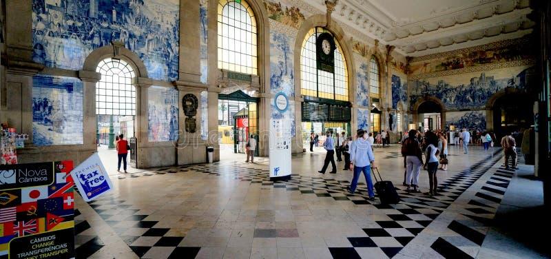 Σταθμός τρένου του Πόρτο στοκ εικόνα