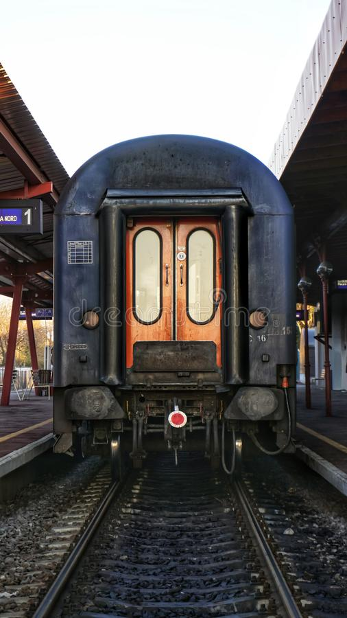 Σταθμός τρένου στοκ φωτογραφία
