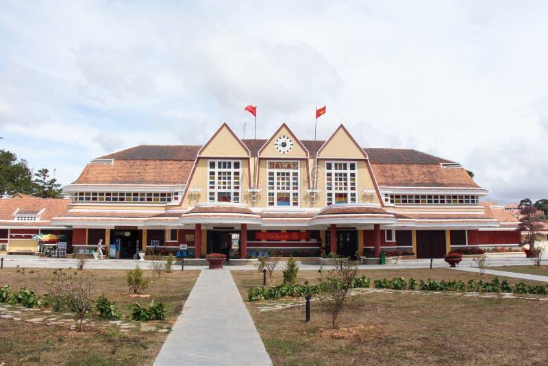 Σταθμός τρένου Dalat στοκ εικόνες με δικαίωμα ελεύθερης χρήσης