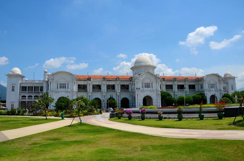 Σταθμός τρένου Ipoh Perak Μαλαισία σιδηροδρόμων KTM στοκ φωτογραφίες