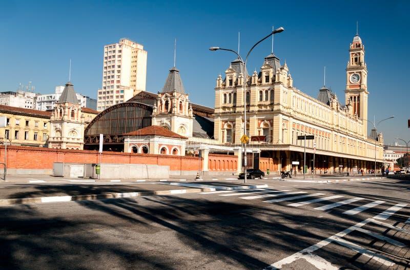 Σταθμός τρένου Luz, Σάο Πάολο στοκ φωτογραφίες με δικαίωμα ελεύθερης χρήσης