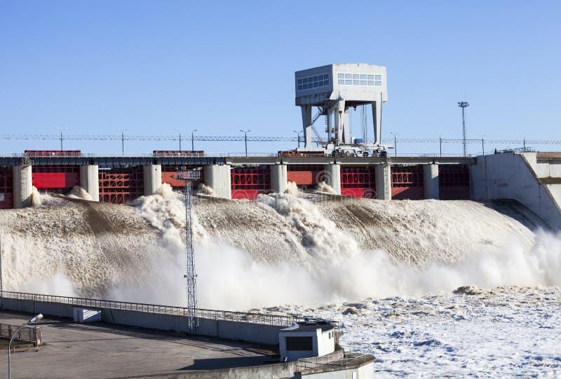 Σταθμός υδροηλεκτρικής ενέργειας Στοκ Φωτογραφία